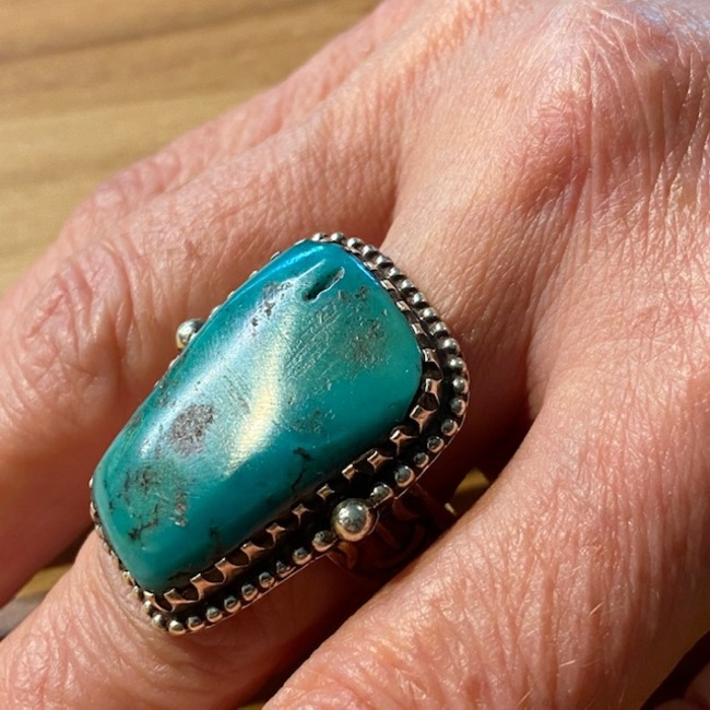 BAGUE NAVAJO TURQUOISE