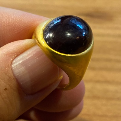 BAGUE OR ALEXANDRITE