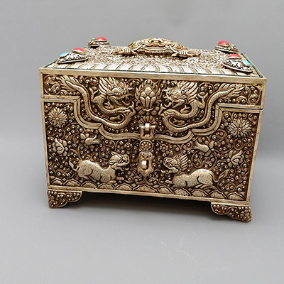 NEPALESE JEWELRY BOX
