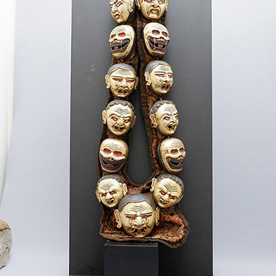 NECKLACE TIBET MASKS