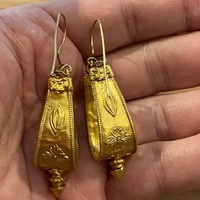 BOUCLES D'OREILLES OR RAJASTHAN