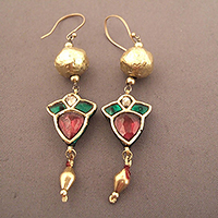 EARRINGS1JUILLET3.T.0581