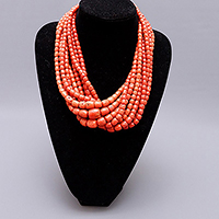 Coral necklace Tore del Greco