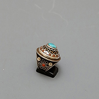 RING NEPAL SILVER COPPER