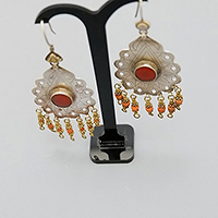 TURKMEN SILVER EARRINGS