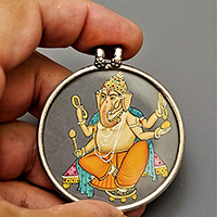 MEDALLION GANESH